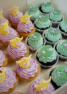Princess & the Frog Cupcakes | by Pet Lamb Patisserie