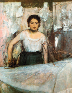 Edgar Degas - Woman Ironing, 1869 at Neue Pinakothek Art Museum Munich | by mbell1975