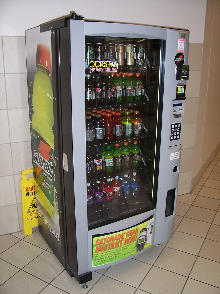 gatorade vending machine