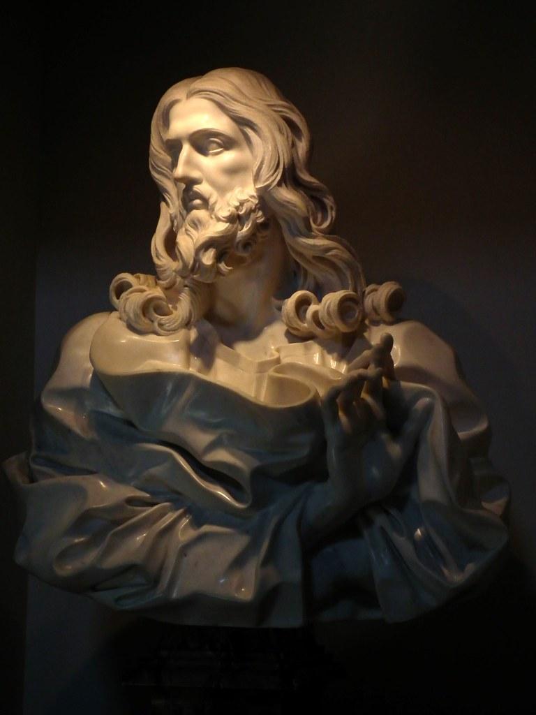 Gian Lorenzo Bernini: Salvator Mundi nella Basilica di San ...