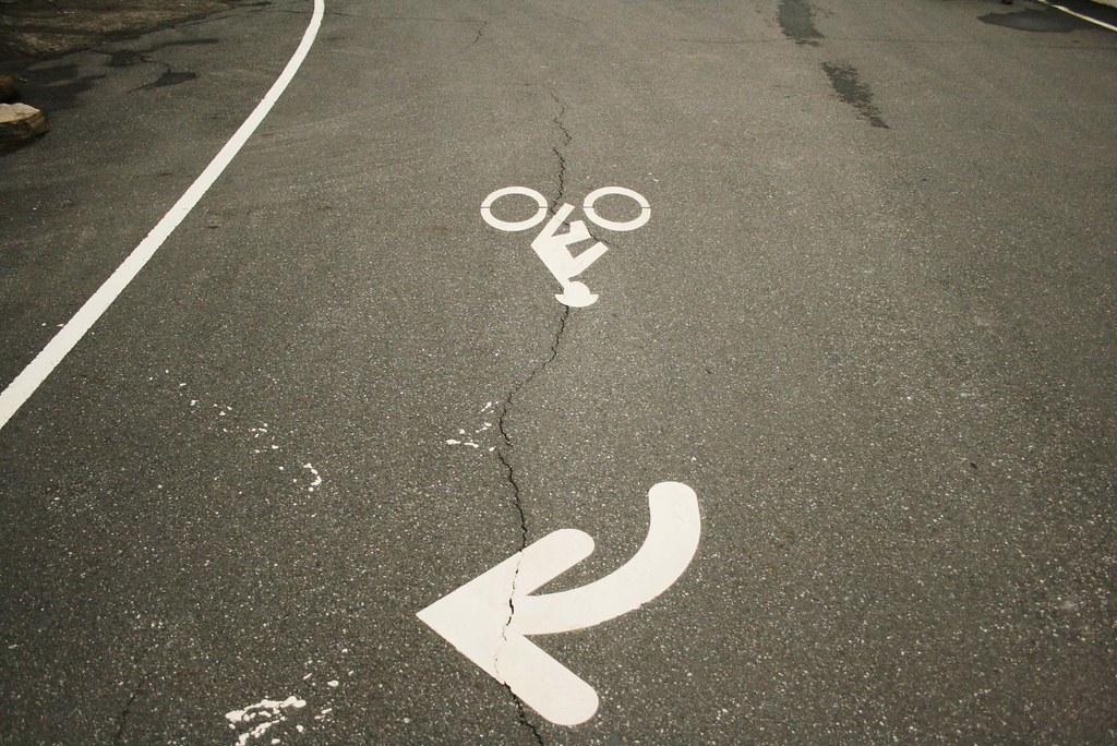自行車道指示