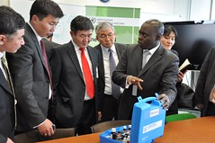 Mongolian Delegation visit UNODC Laboratory