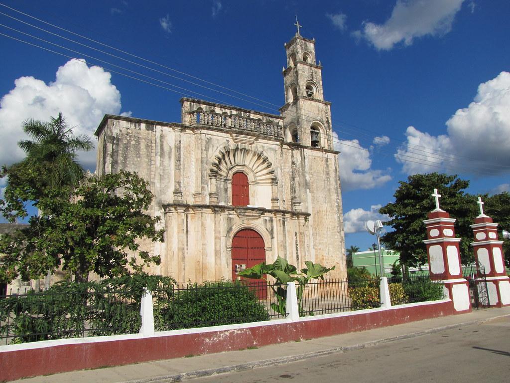 Calkini Campeche Iglesia Y Convento De San Luis Obispo
