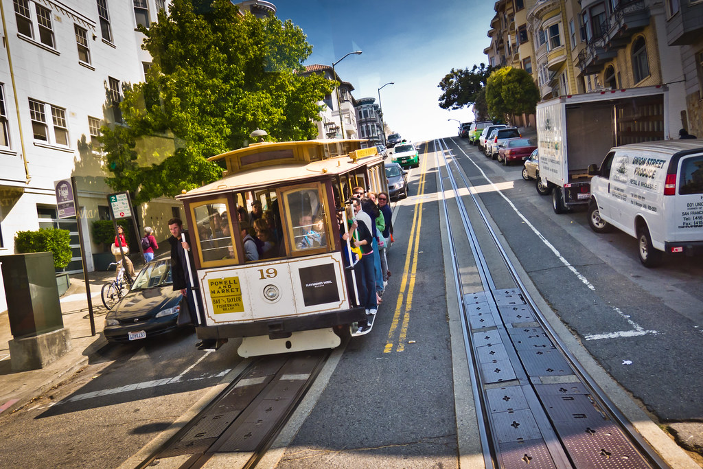 Great City Cars >> Goin' Downhill | A San Francisco Cable Car full of tourists.… | Flickr