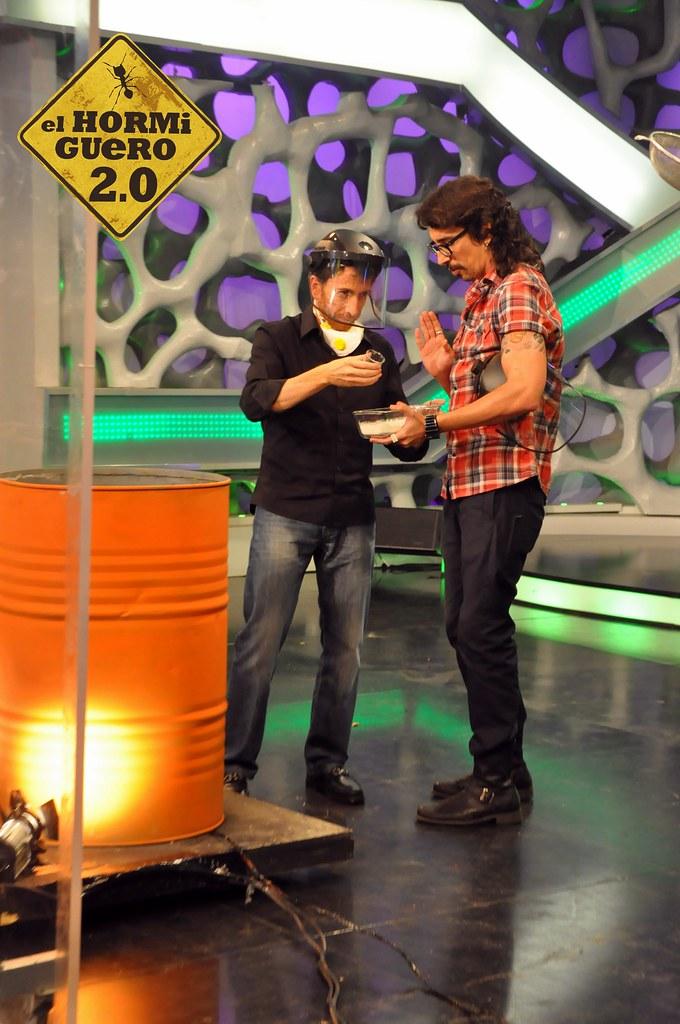 Juanma lopez iturriaga visita el programa de el hormiguer - Lopez iturriaga hermanos ...