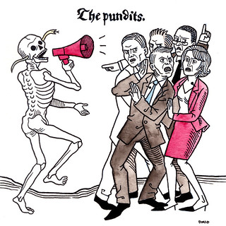 Danse Macabre: The Pundits. | by quirkybird