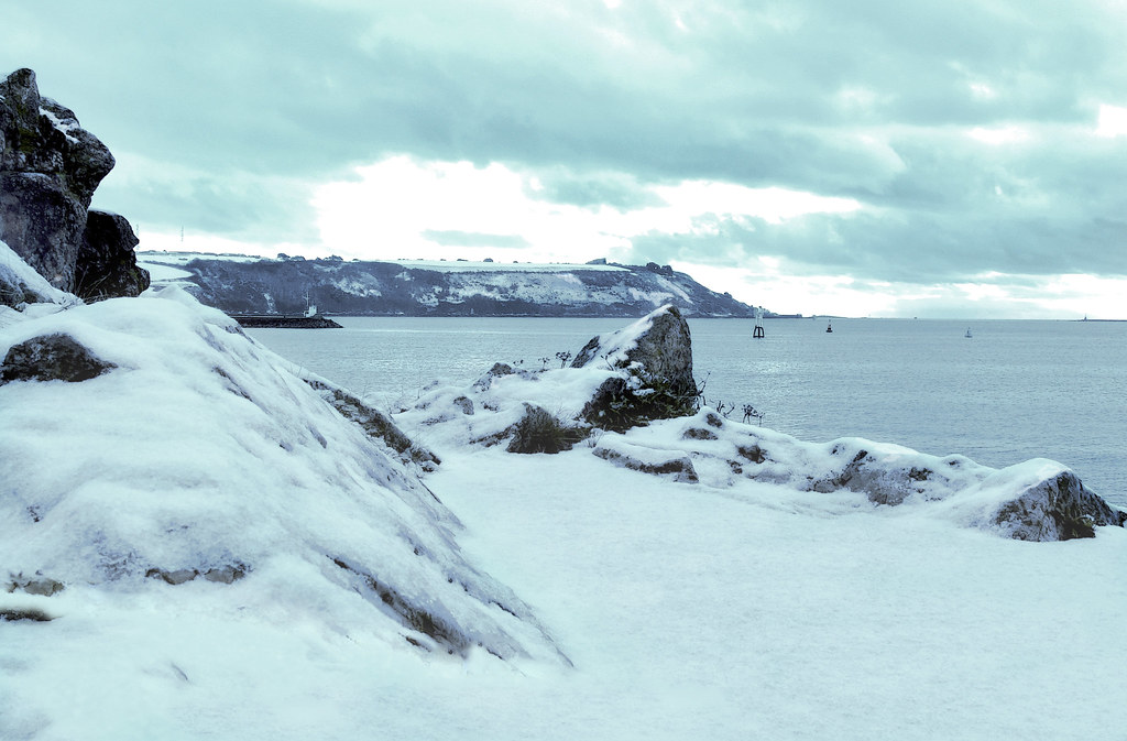 Plymouth Sound in Winter