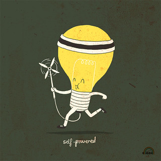 Day 37: Self-Powered | by ILoveDoodle