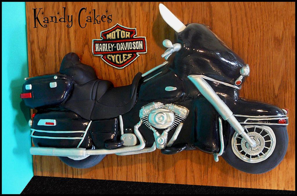 Cake Art Motorcycle Cake Pan : Harley Davidson Motorcycle Cake by Kandy Cakes A friend ...