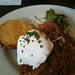 Pulled Pork Biscuit with Poached Egg @ James - Prospect Heights, Brooklyn
