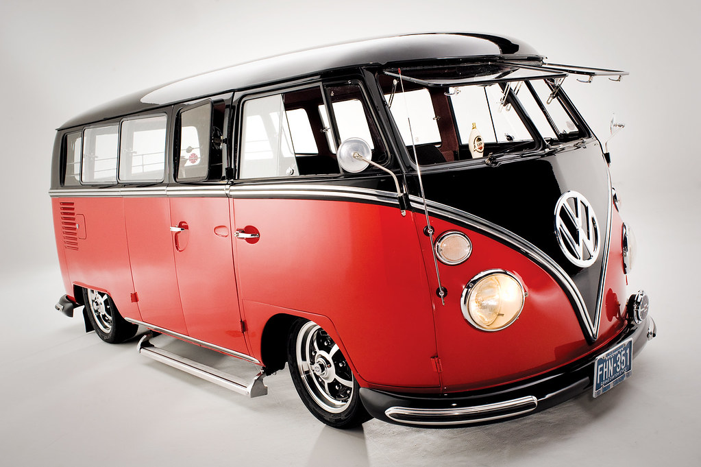 vw bus lowered custom van photo shoot by barry gossage flickr. Black Bedroom Furniture Sets. Home Design Ideas