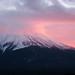 あけましておめでとうございます_Mount. Fuji in rose pink