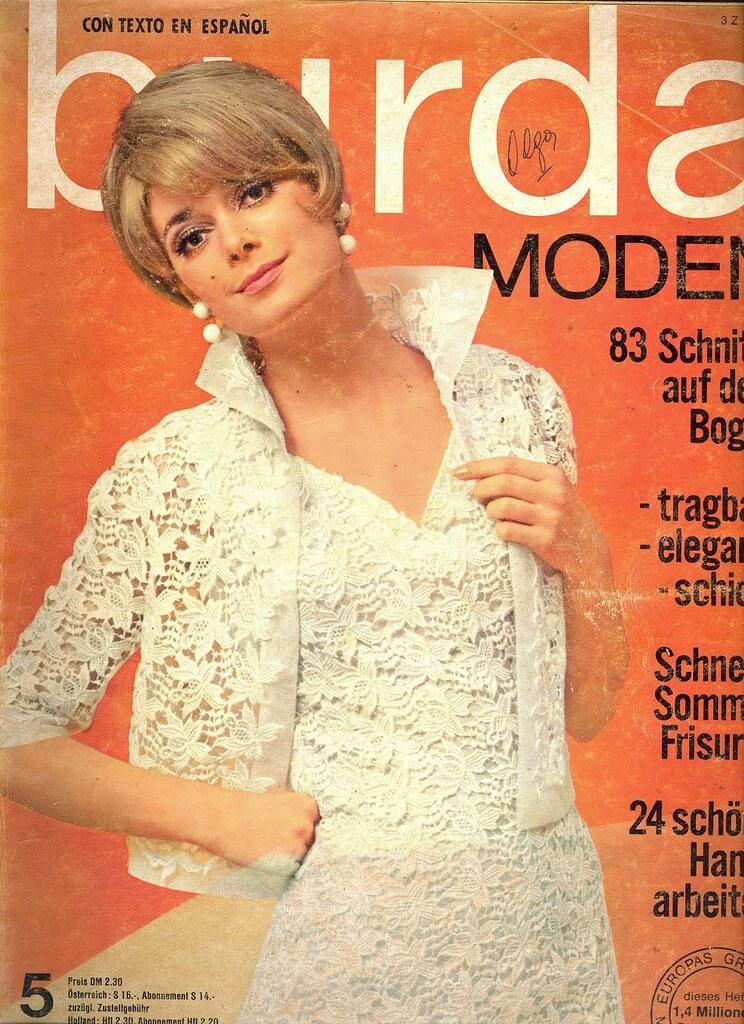 Burda May 1966 German Fashion Magazine Burda Moden May1966 Fashion Covers Magazines Second