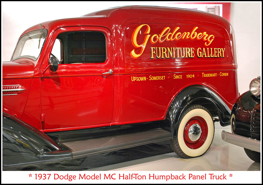 Walter White Chrysler >> 1937 Dodge Panel Truck | Visit to the Walter P. Chrysler Mus… | Flickr
