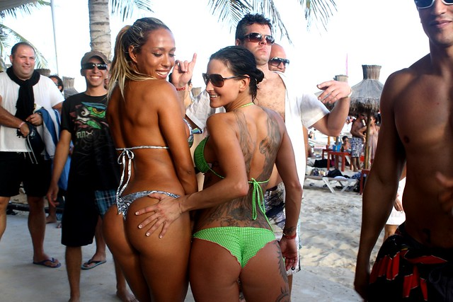 Kool Beach Club Playa Del Carmen Map