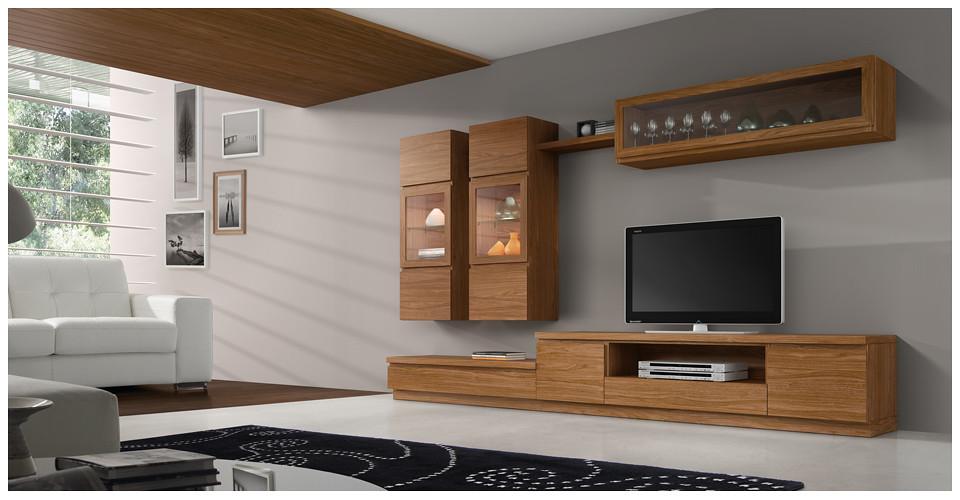 Salones comedores modernos 3956 roma for Salones modulares modernos