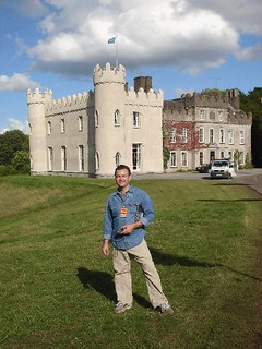 26 Ron in front of Ballinlough castle | by delmccouryband