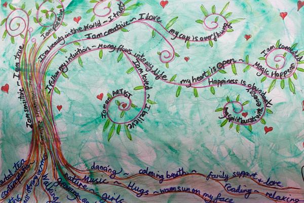Affirmation & Energy Tree