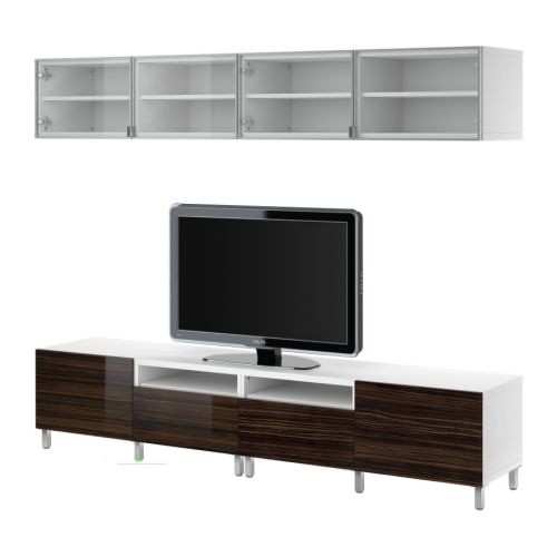 this ikea tv stand might work better why less bulky. Black Bedroom Furniture Sets. Home Design Ideas