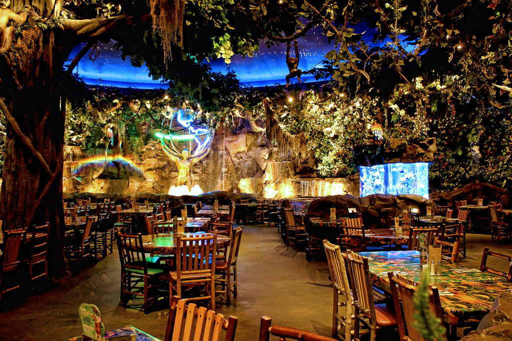 Rainforest Cafe Burlington Menu