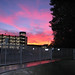 Sunset Over Carpark - 2009