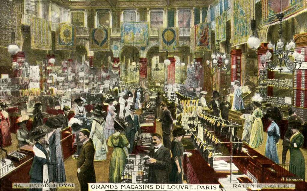Grands magasins du louvre paris gloves section flickr - Magasins orientaux paris ...