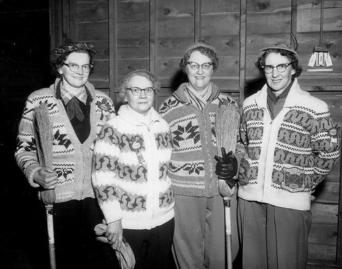 Women's Curling Alberta Champs | by Galt Museum & Archives on The Commons