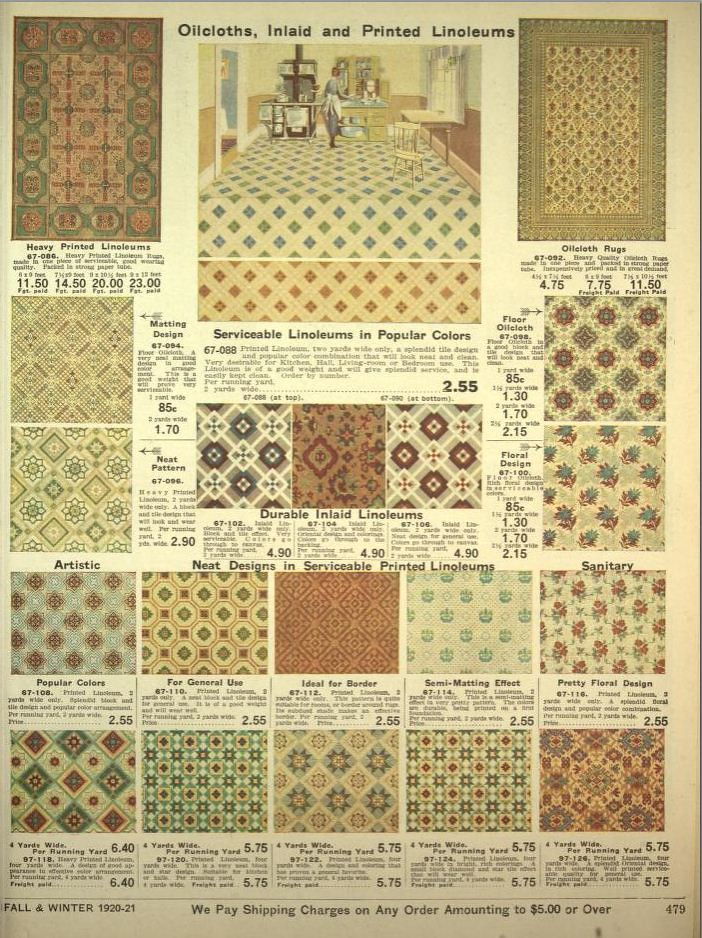 Oilcloths And Linoleum Designs 1920 Charmainezoe S
