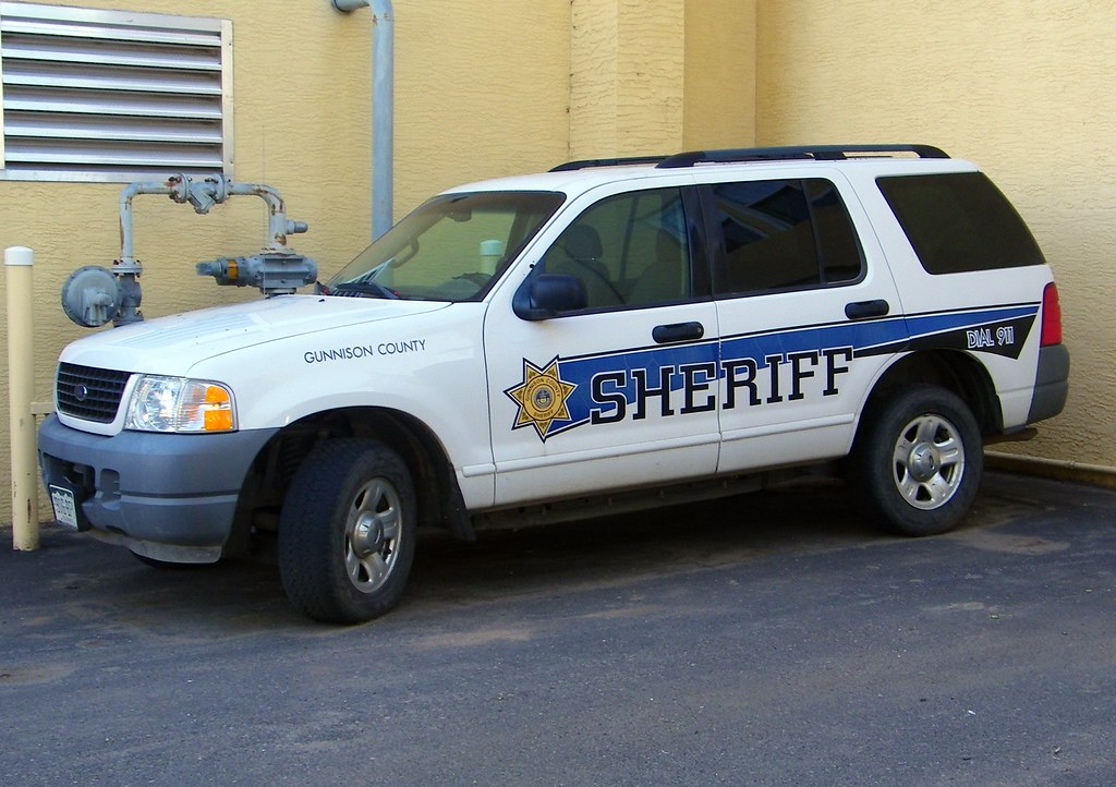 Gunnison County Sheriff co Gunnison Colorado Sheriff Ford Expedition
