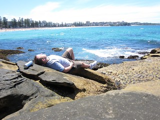Manly Beach relaxing on the rocks | by UCFFool