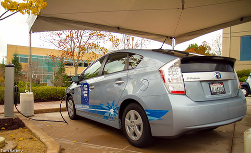 Toyota Prius plug-in hybrid charging | by Tom Raftery