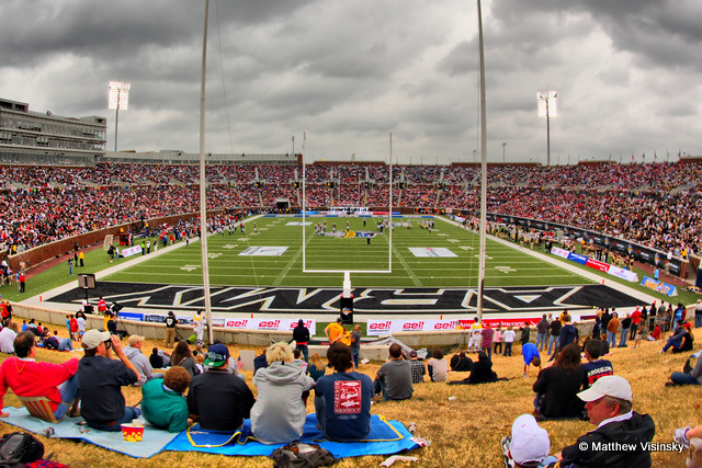 Smu S Gerald J Ford Stadium Hdr A Record Crowd Of
