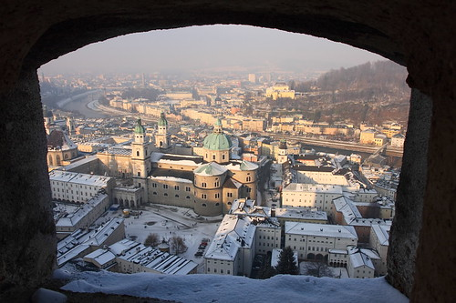 Salzburg from the castle | by LusoFox