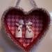 Vintage Napco Kissing Angels Valentine Heart