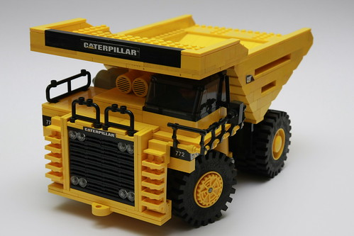 Caterpillar 772 dump truck | by RichardJBrown