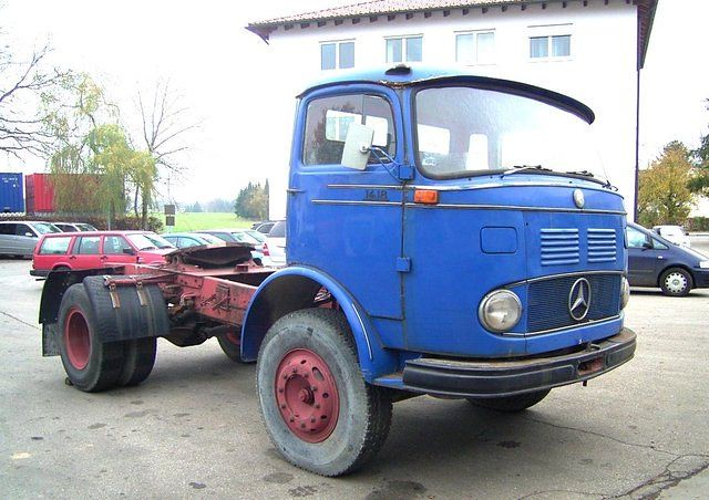 1965 Mercedes Benz 1418 Lps Mobile De Willem S Knol