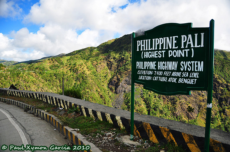 Highest Point In The Highest Highway In The Philippines A