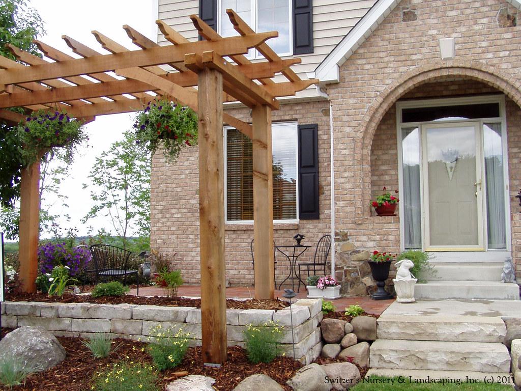 front entry garden room front yard patio just add fri flickr. Black Bedroom Furniture Sets. Home Design Ideas