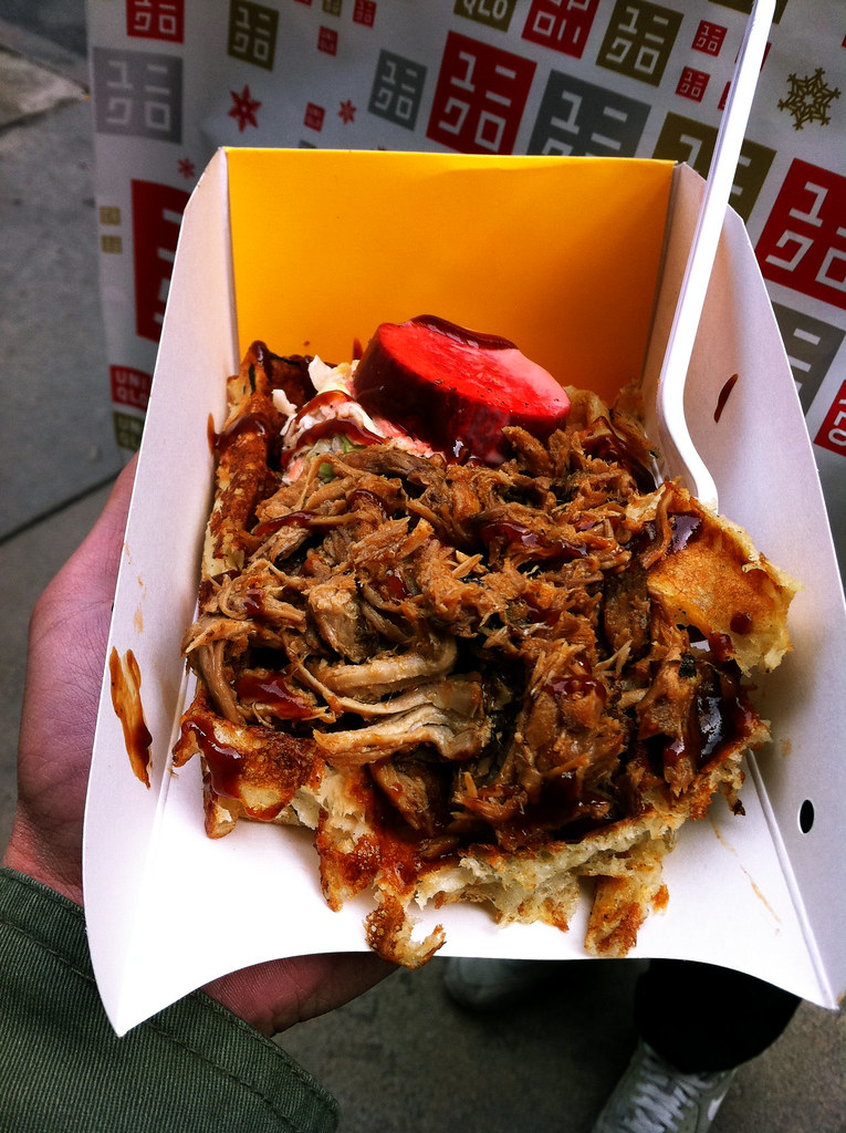 Waffles And Dinges Nyc Waffles And Dinges Bbq Pulled