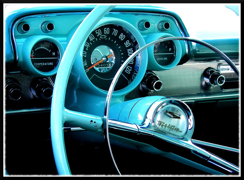 '57 Chevy Dash | The iconic dash of the iconic 1957 Chevy ...