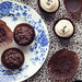 double chocolate chip cupcakes in exchange for some arugula