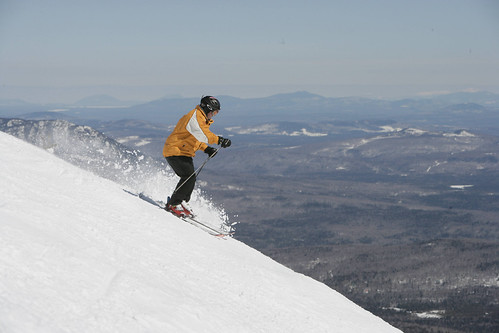 Downhill Skiing - Sugarloaf | by VisitMaine.com