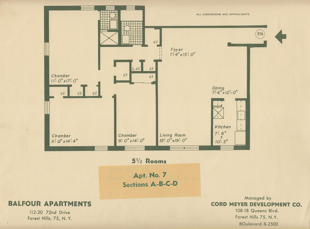 Balfour 112 20 72nd dr forest hills ny blueprint 7 flickr malvernweather Gallery