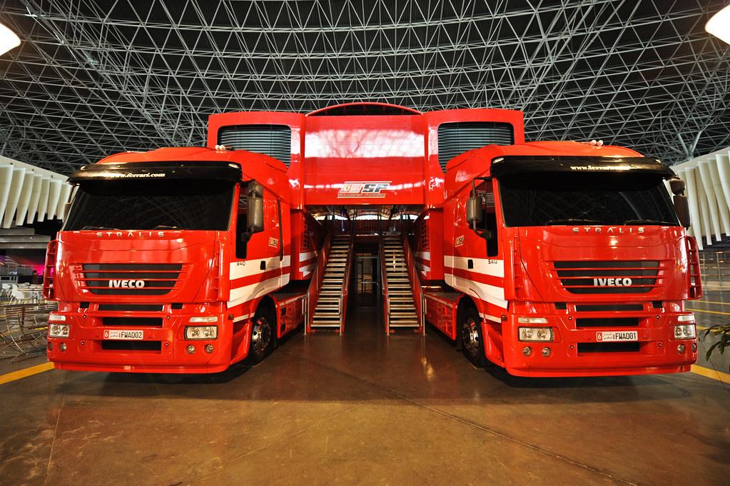 Ferrari F1 Truck Mobile Swissrock Flickr