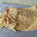 Vintage Lace Jewelry Pouch upcycled textiles