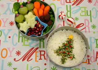 Furikake Christmas Tree Bento | by Bunches and Bits {Karina}