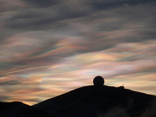 Nacreous Clouds over the NASA Radome -4- | by Alan R. Light