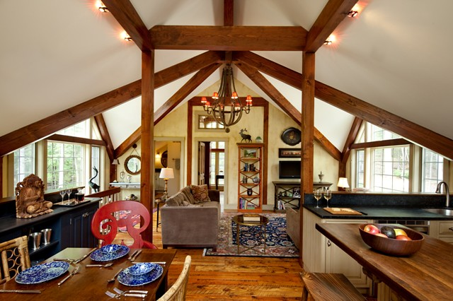 Open Concept Great Room | Yankee Barn Homes | Flickr