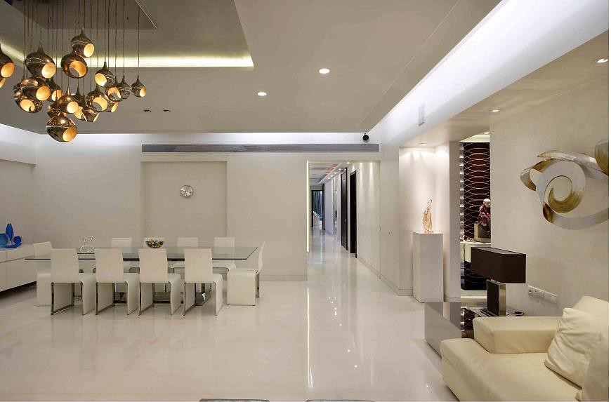 Living room interiors passageway spacious by mahesh punjab - Free interior design ideas for living rooms ...