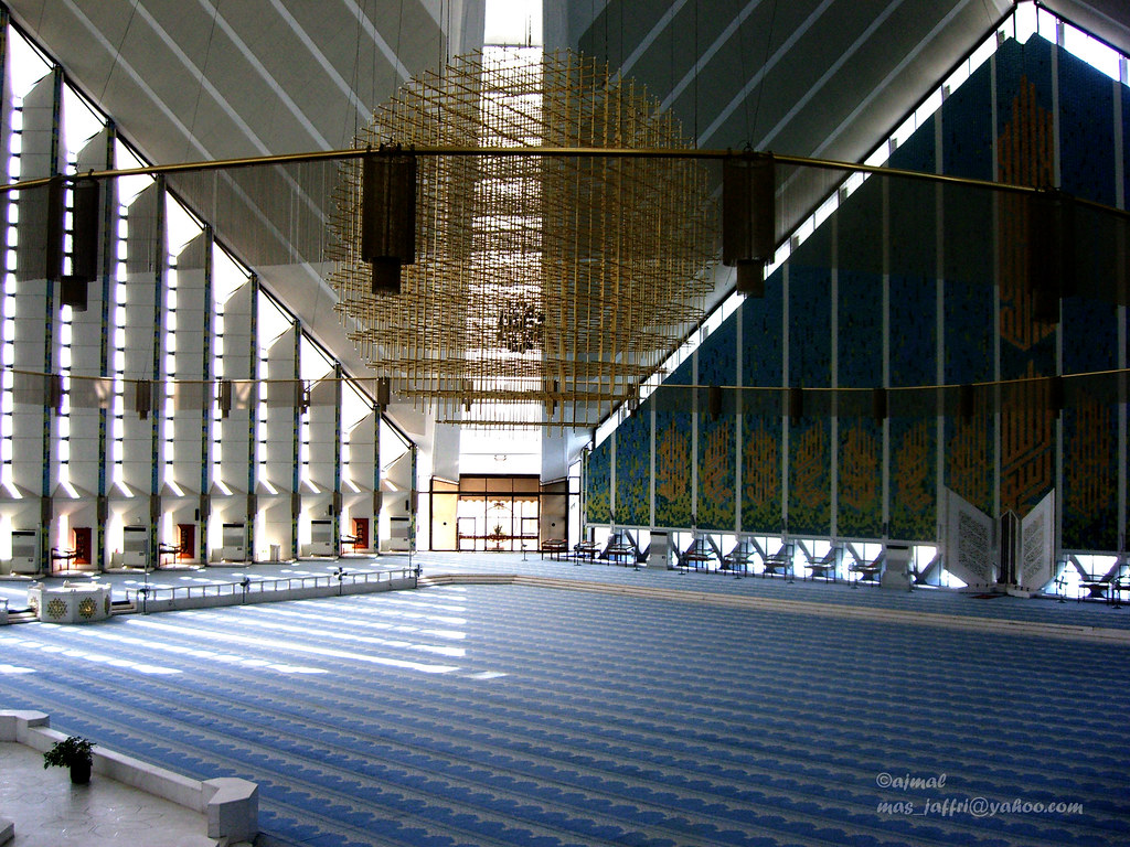 Interior View Faisal Mosque   Islamabad, Faisal, Masjid ...